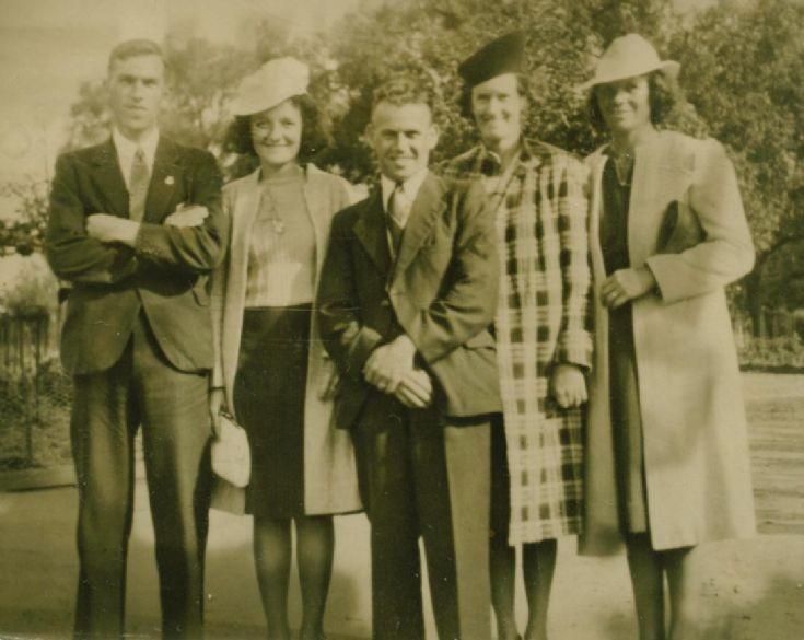 Ann Duggans family Melbourne WW2