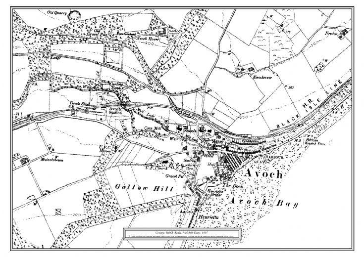 Avoch map 1907