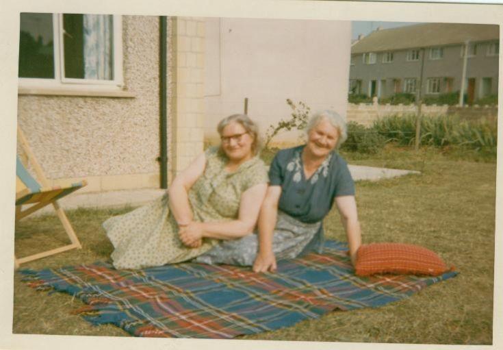 Aunts Meg & Kate Jack 1967