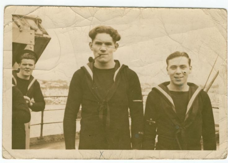 Donald Jack & pal WW2