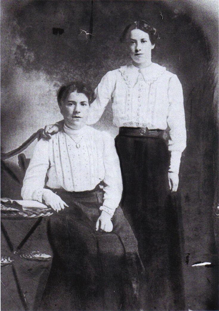 Janet Jack & her sister Flora