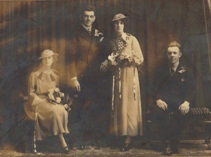 Eddie and Jessie Morrison - c1935