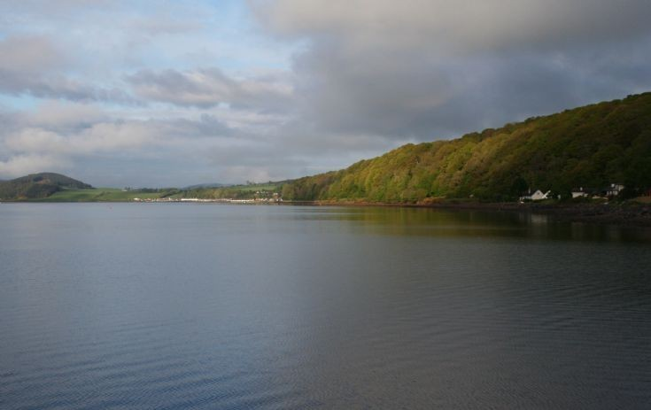 View of Avoch from Fortrose Harbour