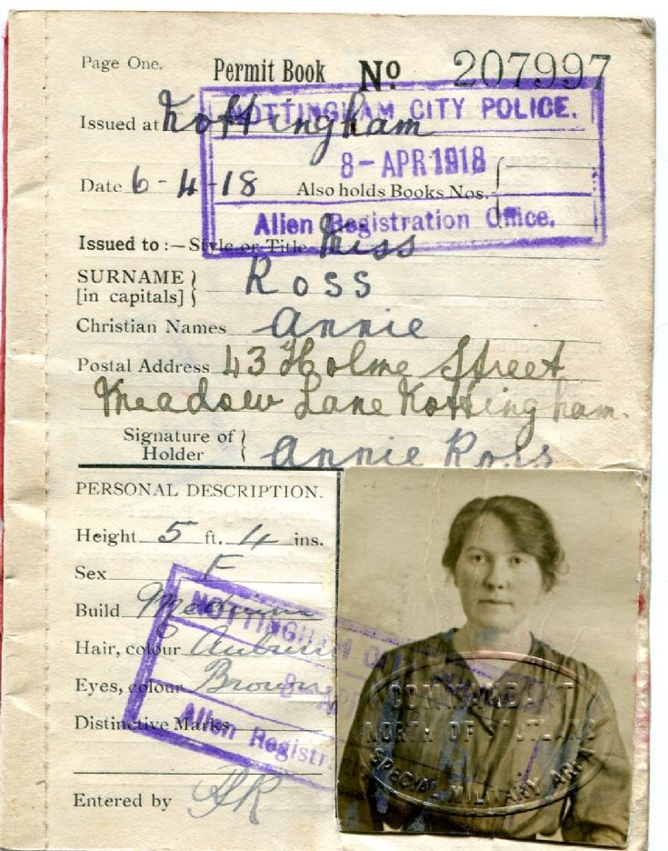 Great War Permit