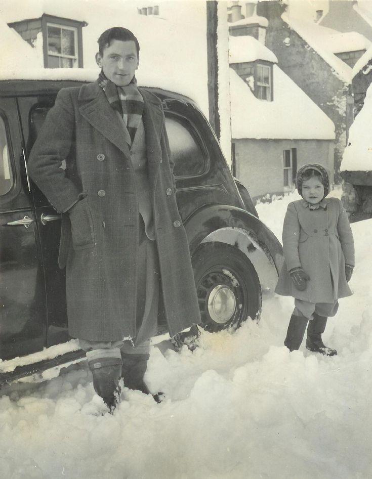 John Jack Patience and his niece Margaret Reid.