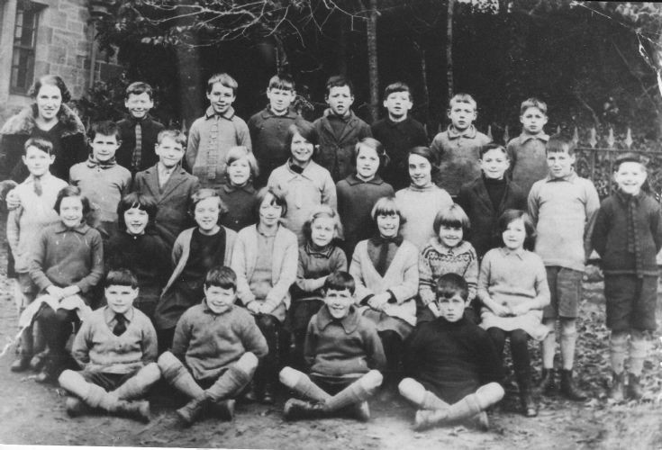 Avoch Village School taken approx 1929