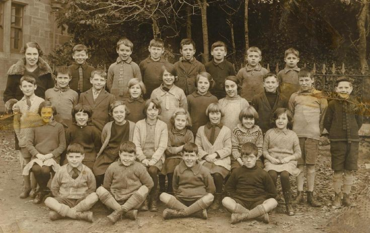 Avoch School Photo - c1927