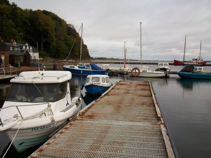 Avoch harbour 2012