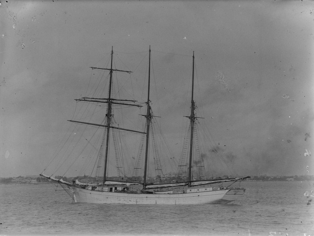 The Amelia J, the ship John Mcleman went down with
