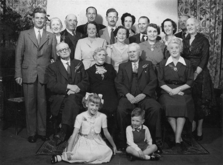 Betsy McLema (nee Skinner & Family