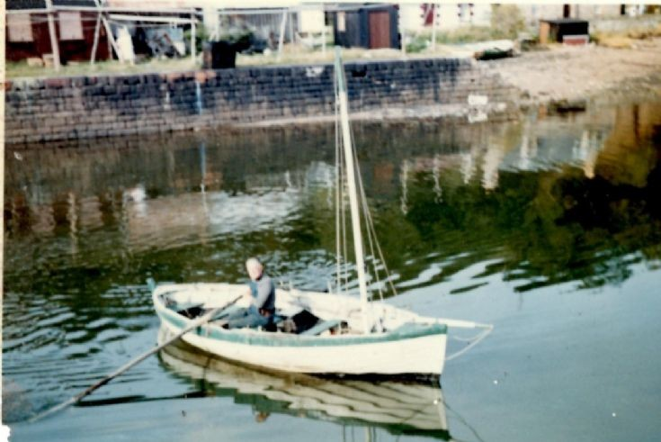 Avoch Harbour 1963 - 'The Boy David'