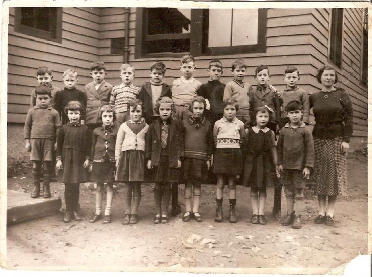 Avoch School,  Miss Ross's class approximately 1937