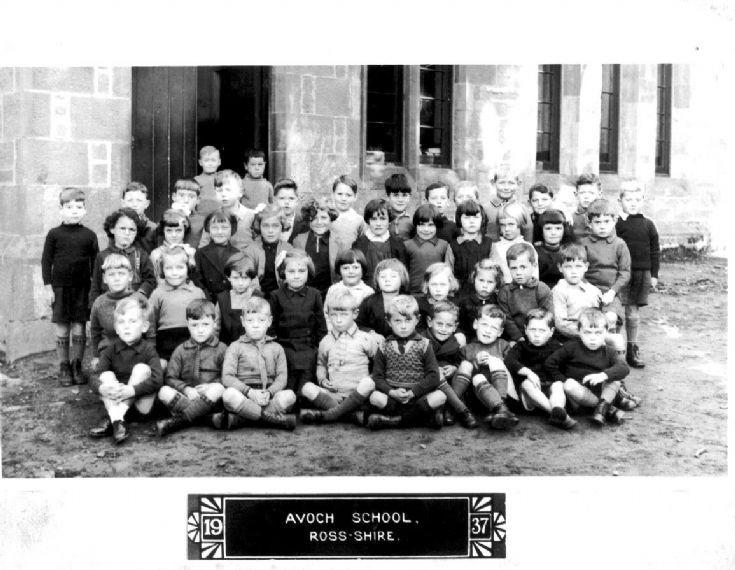 Avoch School 1937