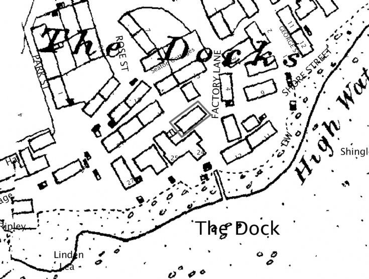 Dock around 1872