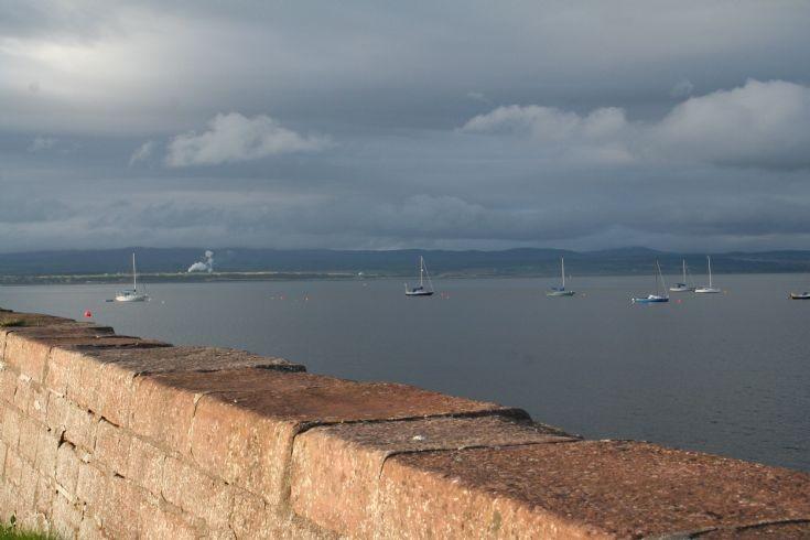 Boats on The Moray