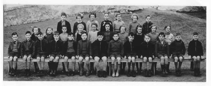 Alister Jack's schoolmates around 1955