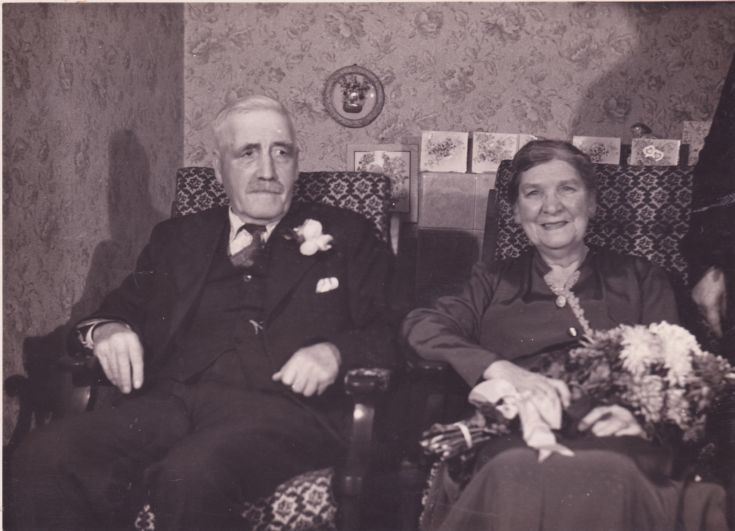 Donal Jack & wife Betsy, Golden Wedding 1954