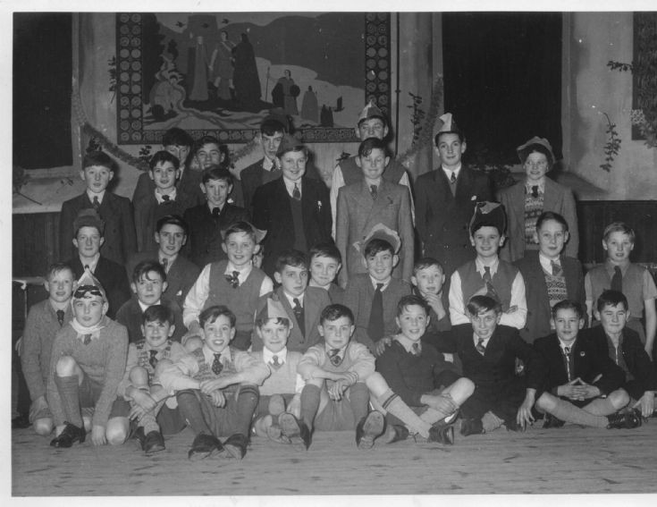 Avoch Junior Secondary school 1955/53